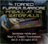 Torneo Flipper Marmore - Pinball at the Waterfalls