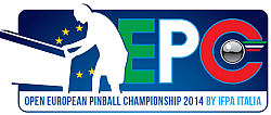 At Enada Spring 2014 the European pinball championship by Ifpa Italia, Tecnoplay and Rimini Fiera