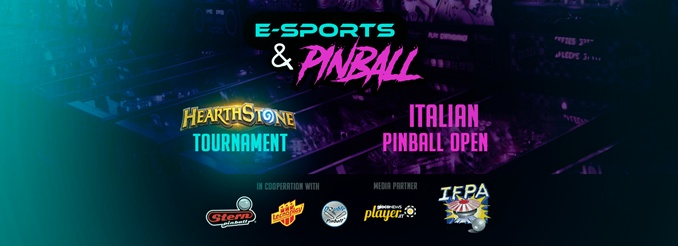 ITALIAN PINBALL OPEN IS BACK: 23-24th JUNE AT TREVISO BETWEEN ESPORTS