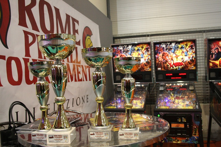 Rome Pinball Tournament III: ecco le foto e i video dell'evento