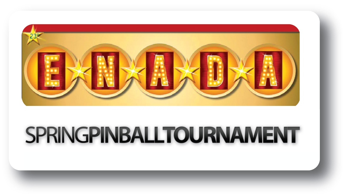The competitive pinball at ENADA: here are the schedule for 2012