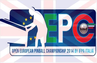 EPC2014: THE EUROPEAN PINBALL CHAMPIONSHIP IN ITALY FOR THE FIRST TIME
