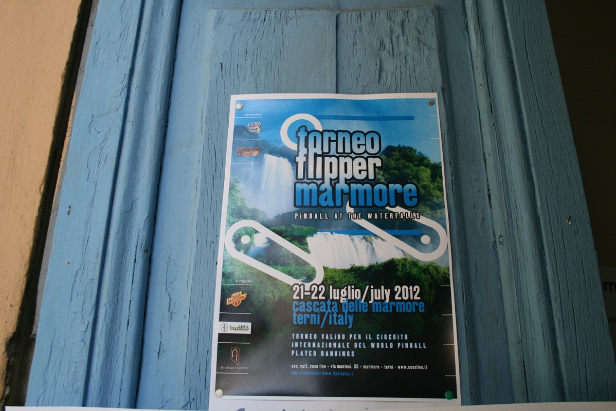 Torneo flipper Marmore - Pinball at the Waterfalls: ecco le foto dell'evento